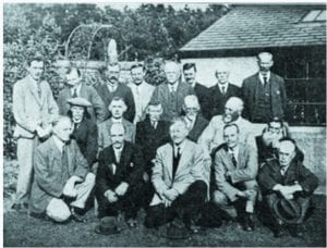 Ayr Beekeepers Visiting Kilmarnock in 1925—Andrew Limond is second from the right at the front